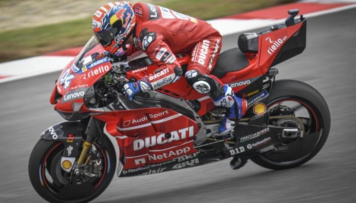 Statystyki Ducati przed GP Malezji