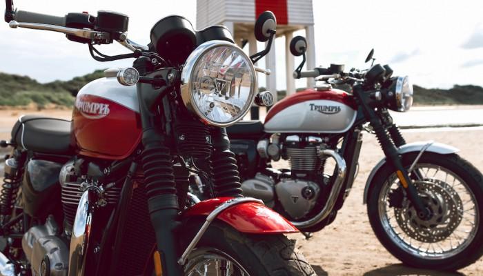 2020 Triumph Bonneville T100 i T120 Bud Ekins Special Edition