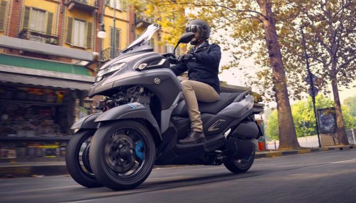 2020 Yamaha TriCity 300 - najsprytniejsza w mieście