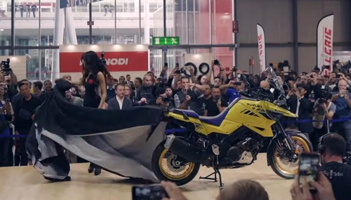 Suzuki modele 2020. V-Strom 1050 i inne gwiazdy EICMA 2019
