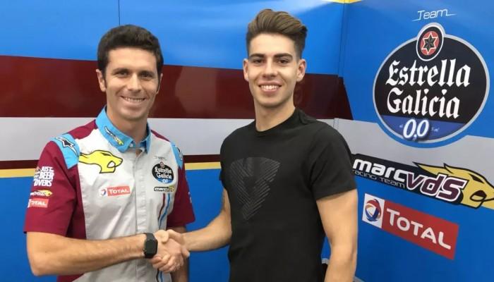 Moto2: Augusto Fernandez zastąpi Alexa Marqueza w Estrella Galicia 0,0 Marc VDS