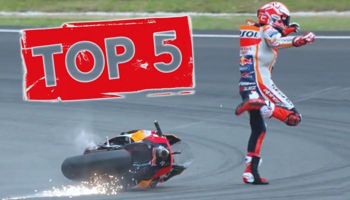 Gleby sezonu! Zobacz TOP 5 najlepszych akcji z MotoGP [FILM]
