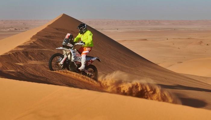 Krzysztof Jarmuż utrzymał równe tempo na skróconym 10. etapie Rajdu Dakar