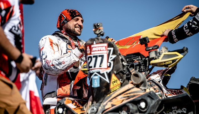 Arkadiusz Lindner wygrywa ostatni etap Rajdu Dakar 2020!