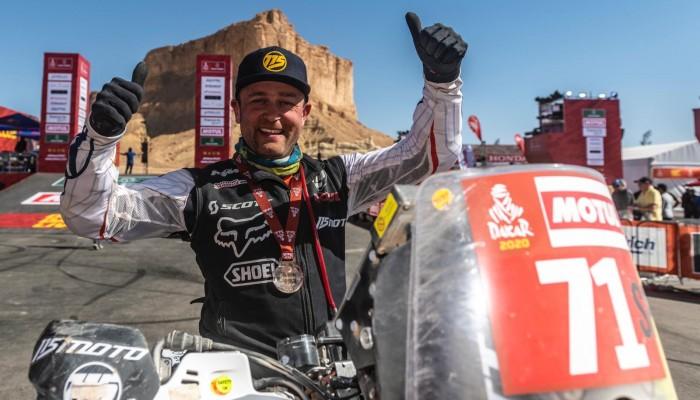 Krzysztof Jarmuż ukończył swój trzeci Rajd Dakar!