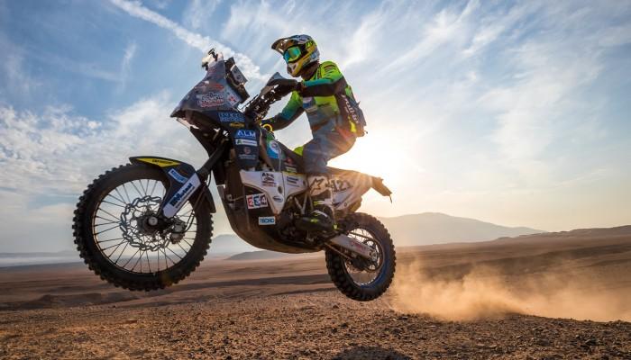 Dakar 2020: Edwin Straver walczy o życie w Holandii