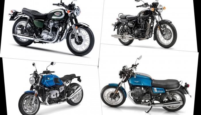 Motocykle retro - TOP 10 najciekawszych modeli motocykli o klasycznym wyglądzie [ZESTAWIENIE]