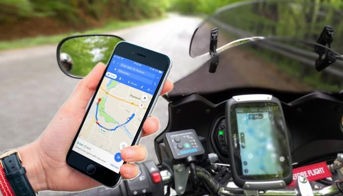 Telefon czy nawigacja - co lepsze na motocykl?