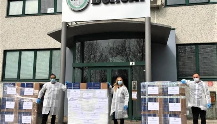 Pirelli, Benelli i inne włoskie firmy aktywnie włączają się w walkę z koronawirusem!