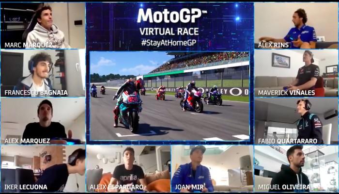 MotoGP: Alex Marquez zwycięzcą pierwszego wirtualnego wyścigu [TRANSMISJA]