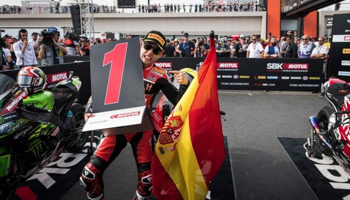 WSBK: Alvaro Bautista częściowo obwinia Ducati o utratę tytułu w sezonie 2019