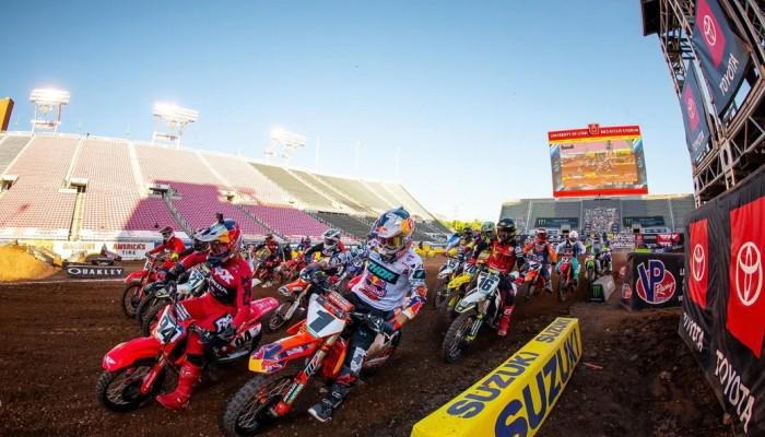 AMA Supercross: wyniki czwartej rundy w Salt Lake City [VIDEO]