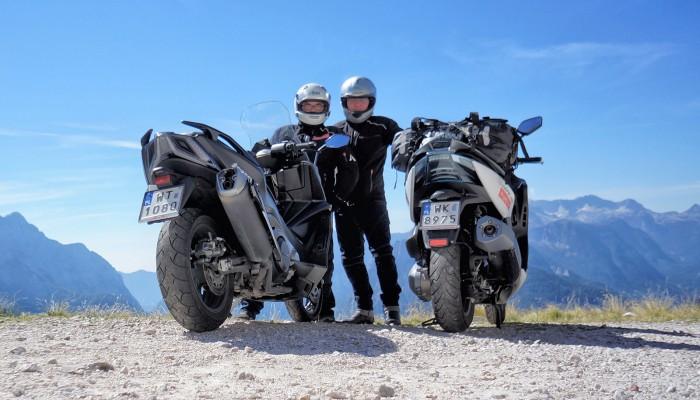 Motocyklem do chorwacji z