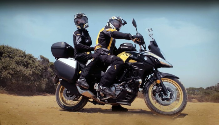 Suzuki V-Strom 650 XT w turystyce we dwoje. Jedzie czy nie jedzie? [TEST W TRASIE]