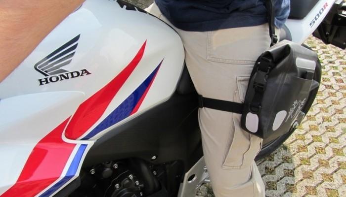 Torba na nogę Amphibious LEGBAG 2L BLACK - dlaczego wolę to niż torbę nerkową