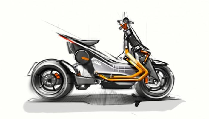 KTM powraca do pomysłu elektrycznego skutera. Technologię dostarczy Bajaj