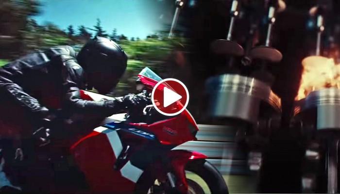 Tak wygląda nowa Honda CBR 600 RR 2021 [VIDEO]