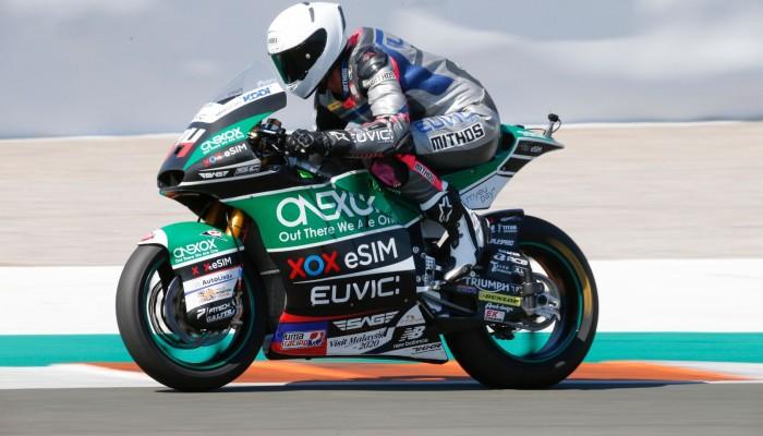 Kolejne udane testy Moto2 Piotra Biesiekirskiego