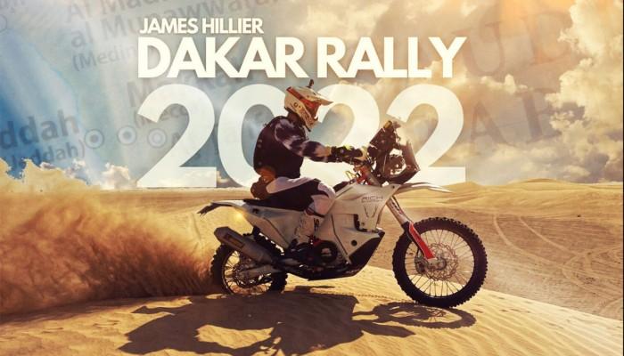 James Hillier, zwycięzca Isle of Man TT, wystartuje w Rajdzie Dakar
