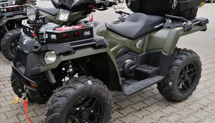 Polskie wojsko kupuje quady Polaris