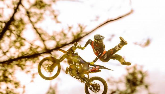 Rafał Biały: jesienny trening Freestyle Motocross