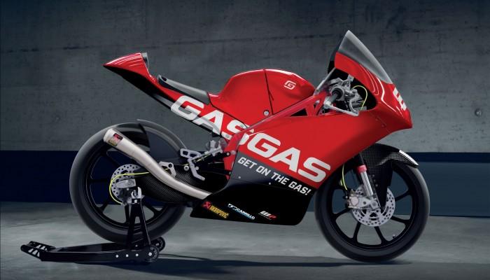 GasGas wystartuje w klasie Moto3
