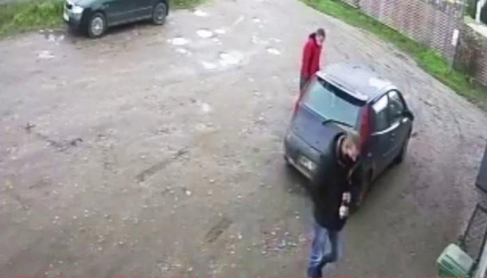 goslice kradziez puszki Moto Mikolajow Plock