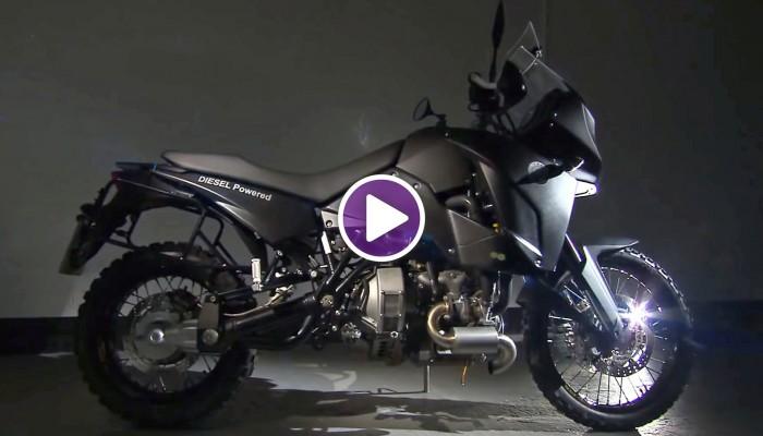 TRACK T800 CDi Diesel Motorcycle z