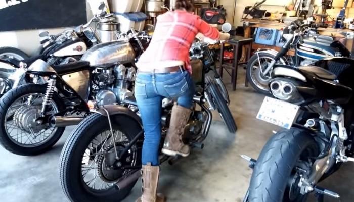 Czy uruchamiać motocykl zimą, by posłuchać gangu silnika? Czy przepalać motocykl zimą?