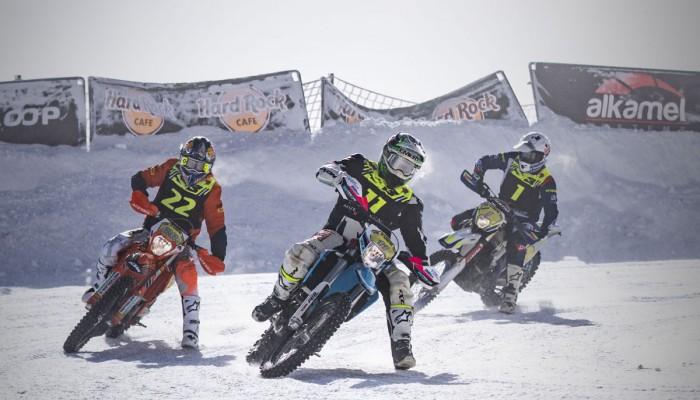 Ice Gladiators: Garcia i Gomez ścigają się po śniegu i lodzie w Andorze [VIDEO]