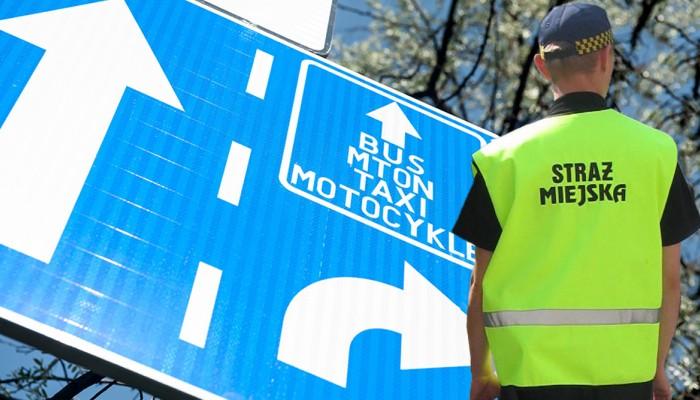 Czy straż miejska będzie mogła wystawiać mandaty za jazdę buspasem? Czy także motocyklistom?
