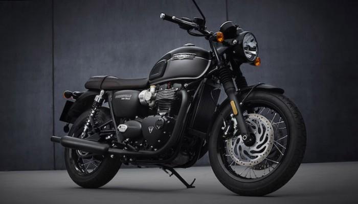 2021 triumph bonneville t120 black z