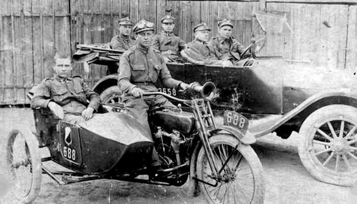Harley Davidson w Wojsku Polskim z
