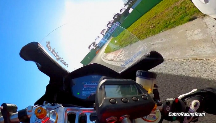 aprilia rs 660 gabro racing team track onboard z