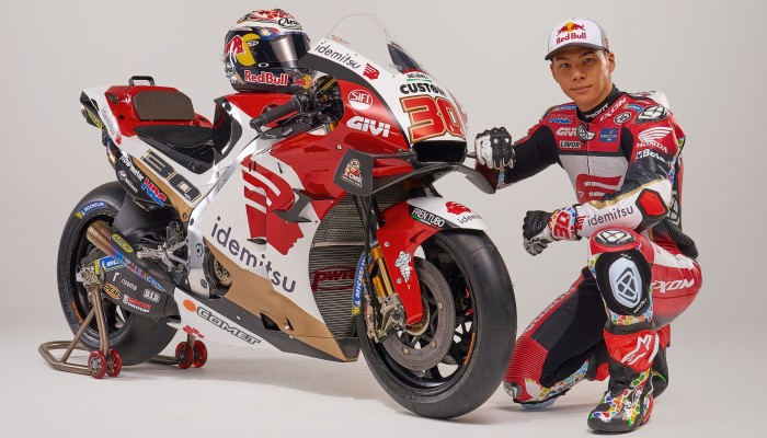 Takaaki Nakagami chce walczyć o tytuł w MotoGP. Wywiad Micka przed sezonem 2021