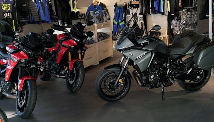 Yamaha Tracer family modele 2021 z
