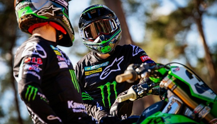 Monster Energy Kawasaki Racing Team gotowy na start sezonu MXGP [VIDEO]