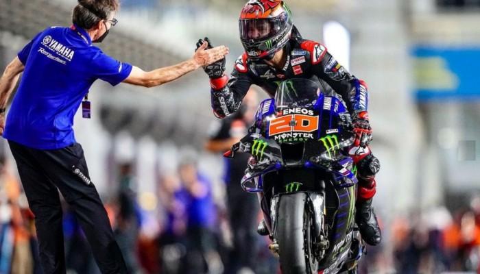 MotoGP 2021 GP Dohy - rekordowy wyścig, kontrowersyjne zderzenie i nowy lider tabeli
