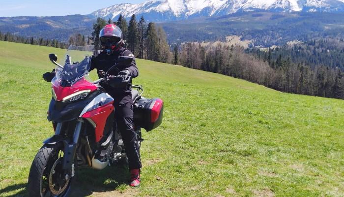 test ducati multistrada v4s i daniel moto tours vlog z