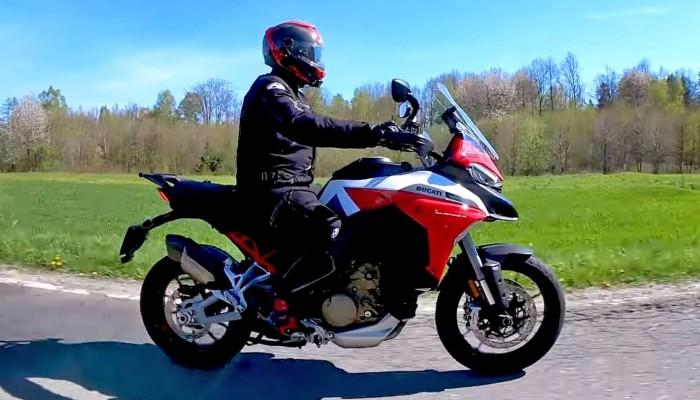 Ducati Multistrada V4S 2021 - test długodystansowy