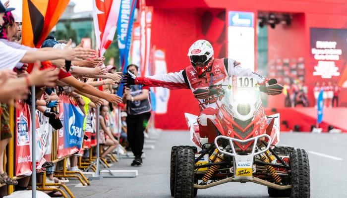 Silk Way Rally: Rafał Sonik jedzie po drugiego tygrysa