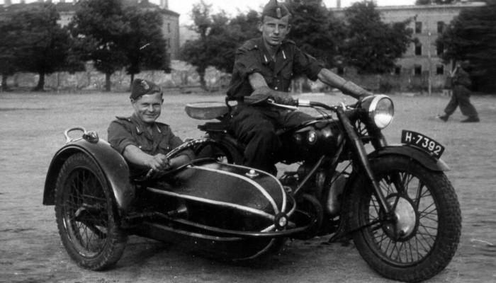 Motocykle w Ludowym Wojsku Polskim - co udało się zdobyć na wrogach?