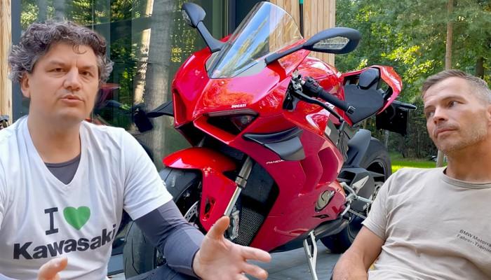 Ducati Panigale V4 - opinia po objeżdżeniu innych superbike - Gamonie Wybierają Konie (Odcinek 6)