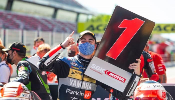 WSBK 2021: Manuel Gonzalez wygrywa drugi wyścig Supersport na Circuit de Barcelona-Catalunya