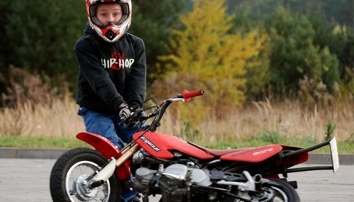 Eryk Niemczyk - od stuntu do motocrossu