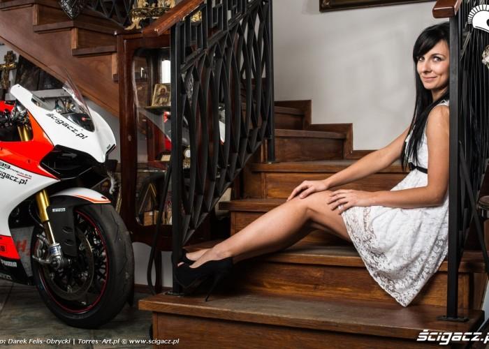 Angelika sesja Scigacz pl Ducati