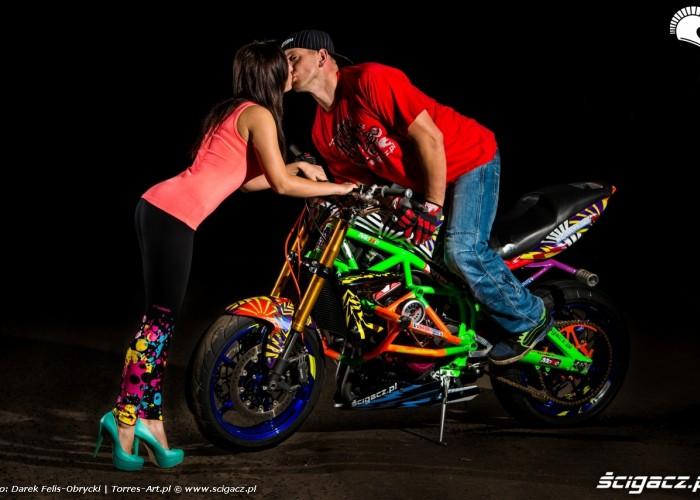 sesja Scigacz pl pocalunek Wheelieholix