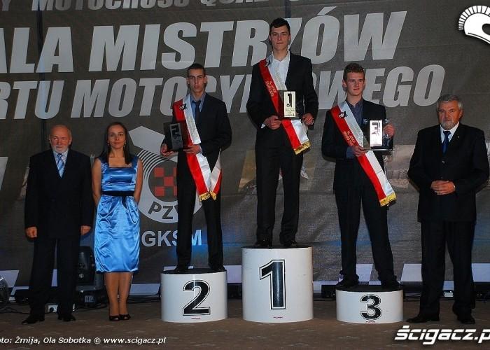Mistrzowie Polski 2009 Enduro klasa Junior