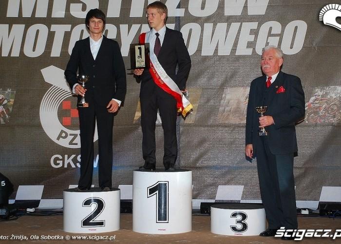 Mistrzowie Polski 2009 Trial klasa Junior