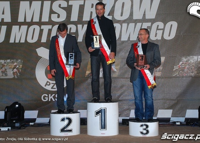 Mistrzowie Polski 2009 klasa Superbike